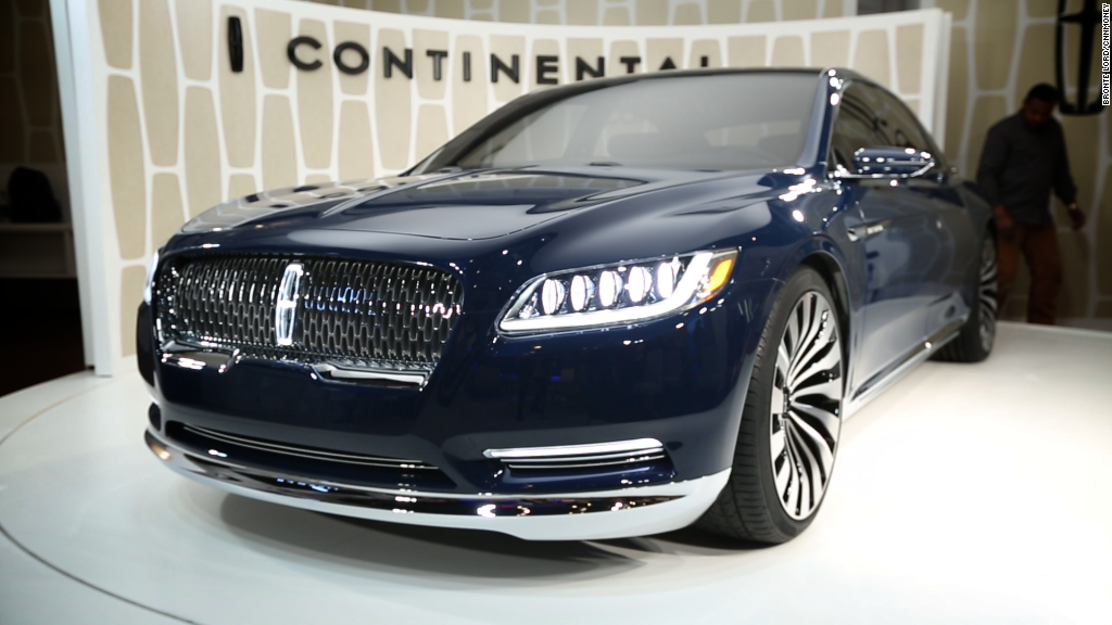 Lincoln unveils classy new Continental
