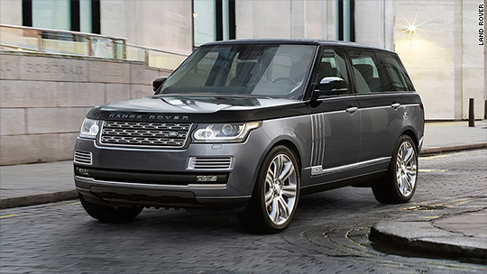 Land Rover's new SUV: Most expensive ever