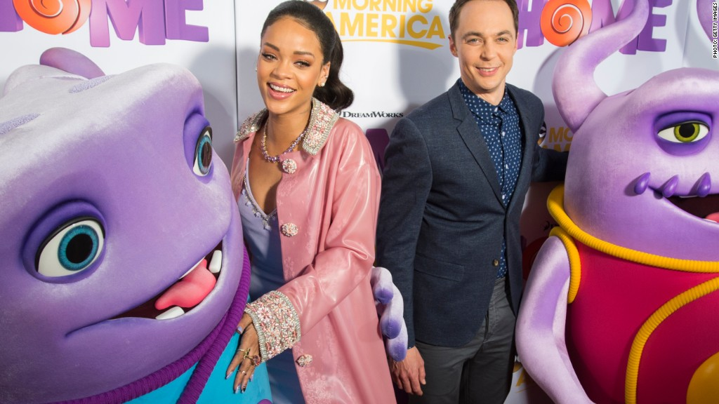 Thanks, Rihanna! Nightmare may be over for DreamWorks