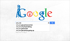 Popular Google search: 'Why are gas prices so low?'