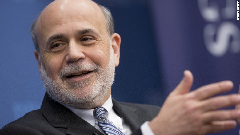 Ben bernanke from fed chair to blogger for Chair of the fed game