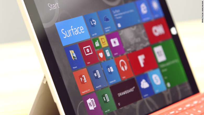 surface 3 screen