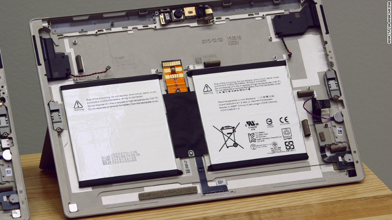surface 3 battery