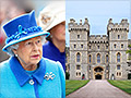 Queen's royal workers locked in labor dispute at Windsor Castle