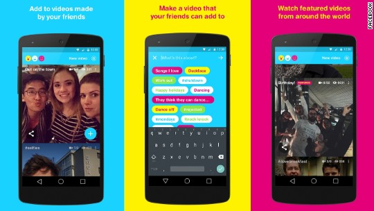 Facebook Riff is like Snapchat + Vine