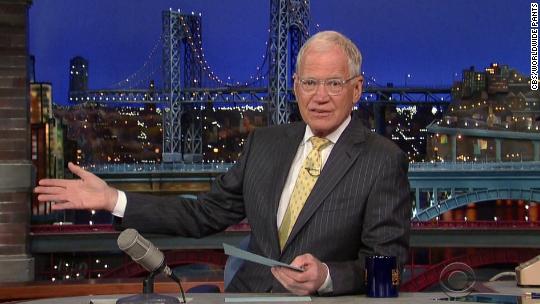 Here is David Letterman's last top ten list