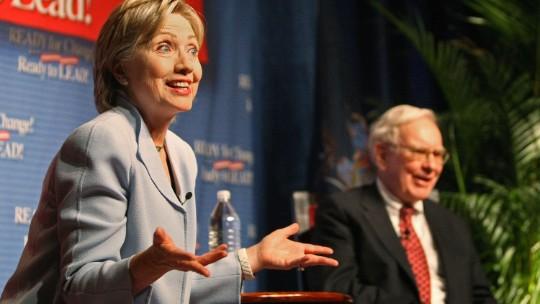Warren Buffett to campaign for Hillary Clinton