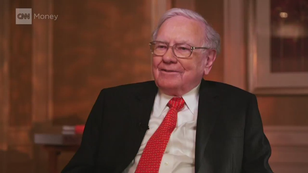 Buffett can't find cheap stocks to buy