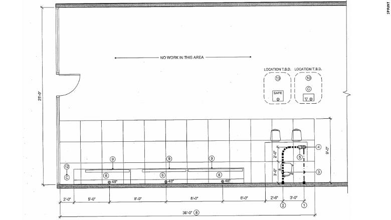 The blueprints inside the new sprint radioshack stores cnnmoney radioshack blueprint malvernweather Choice Image