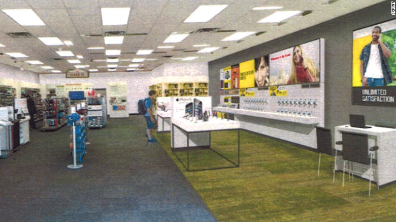 The Blueprints Inside The New Sprint Radioshack Stores