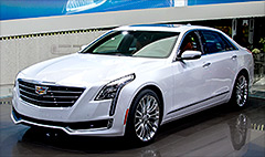 Cadillac unveils new plug-in hybrid sedan