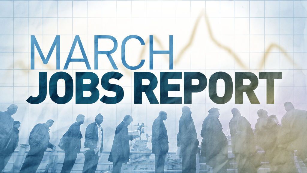 US job growth sluggish in March