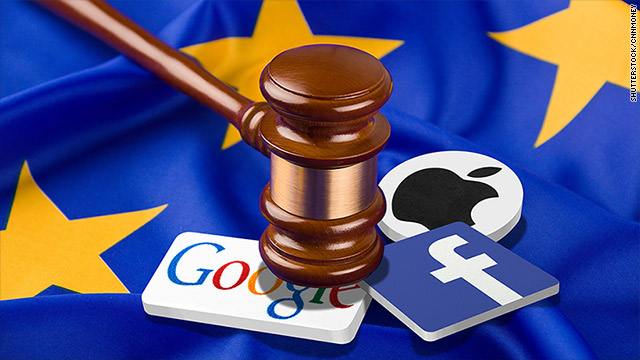 La gran pelea de Europa contra Apple, Facebook, Google y Amazon