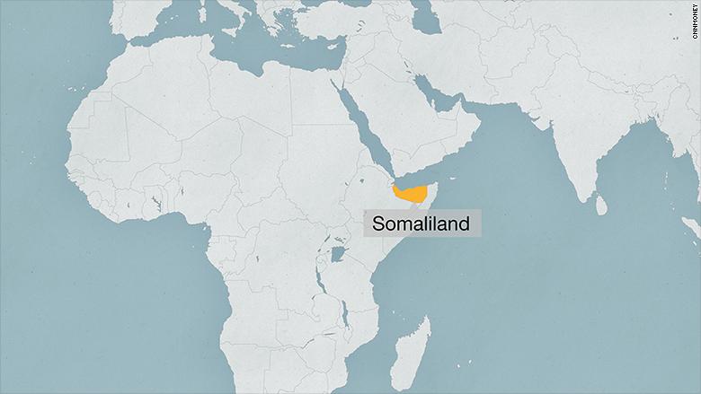 assamad map somaliland