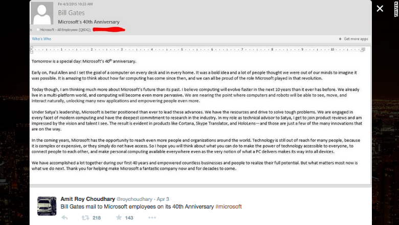 microsoft email gates