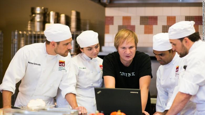 ibm watson chef ice kitchen cookbook