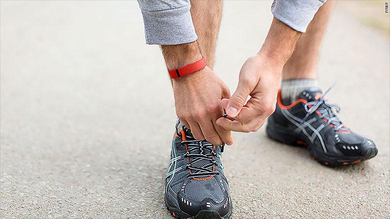 fitbit running sneakers
