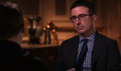 Why Snowden chose John Oliver