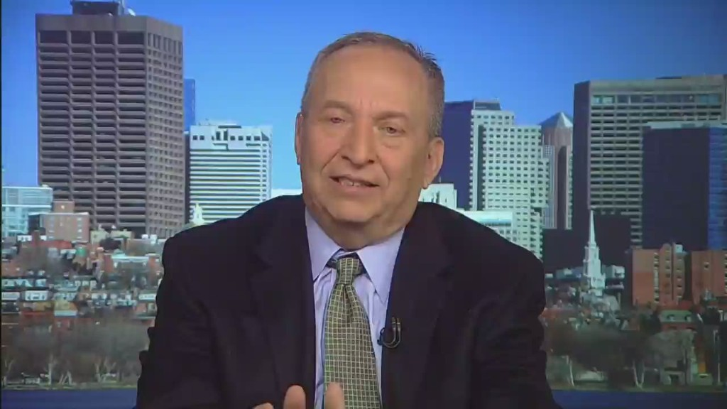 Larry Summers on why now is the time to invest