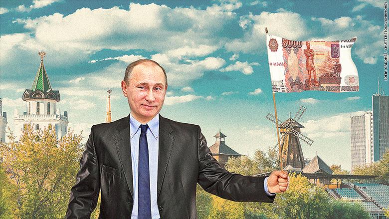 putin ruble rally