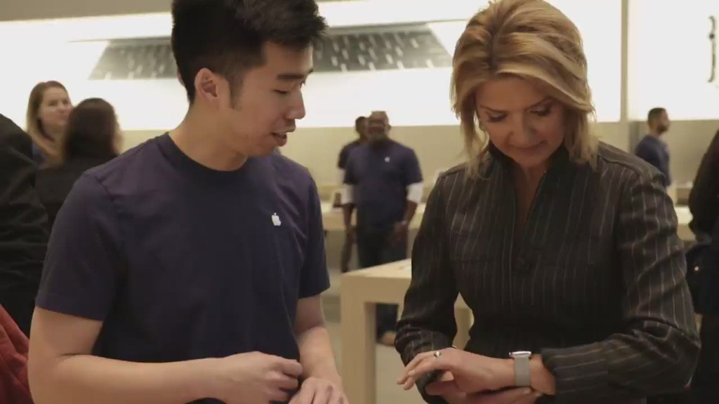 What it's like to shop for the Apple Watch