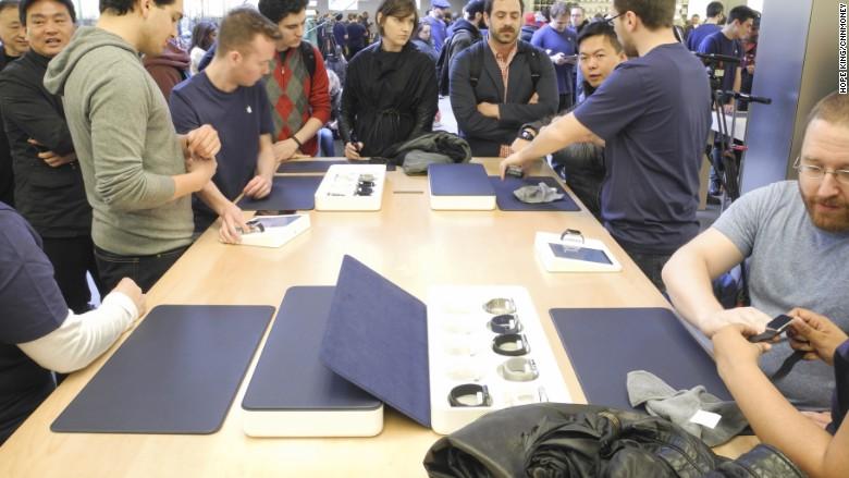 apple watch demo NYC
