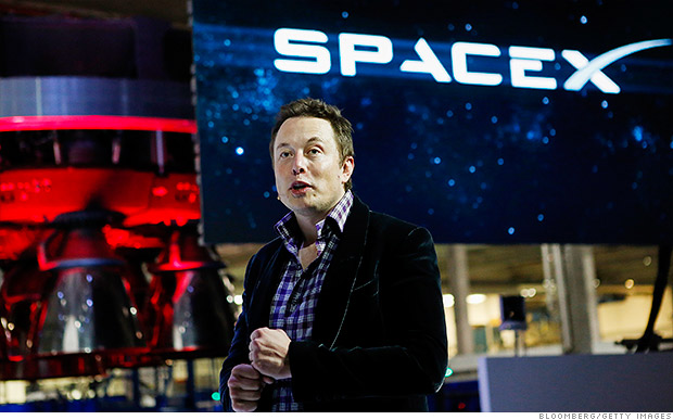 Brian Grazer and Ron Howard working on space series with Elon Musk - Apr. 10, 2015