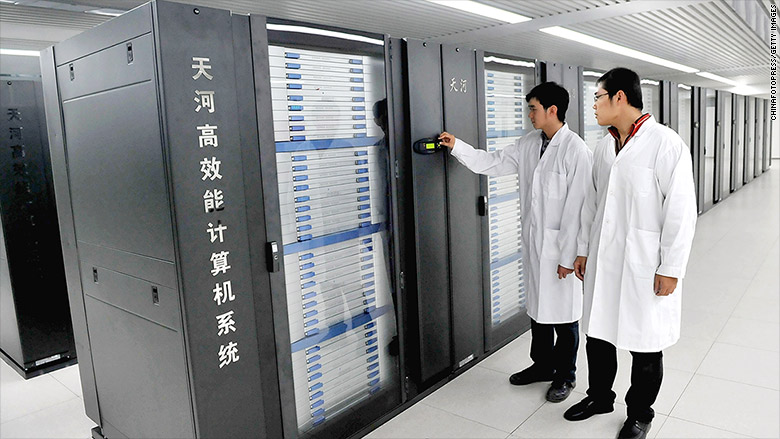 tianhe supercomputer