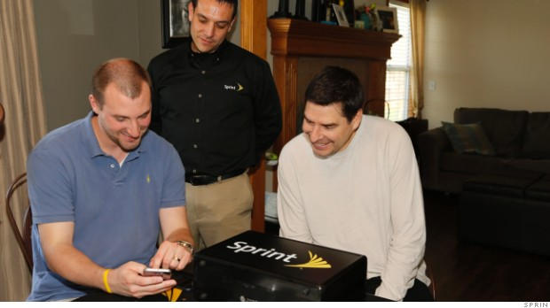 Sprint now makes house calls to upgrade your cell phone