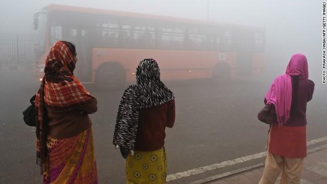 Esta ciudad en India tiene la peor calidad de aire del mundo