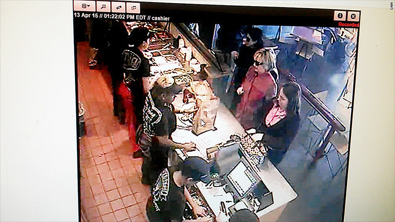 fast food hillary chipotle