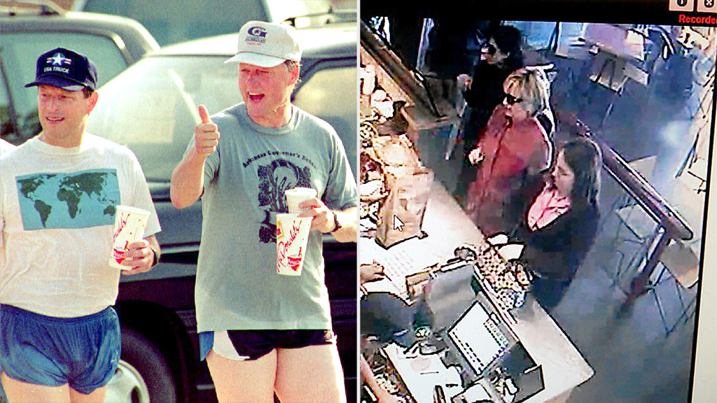 Hillary Clinton picks burritos over burgers