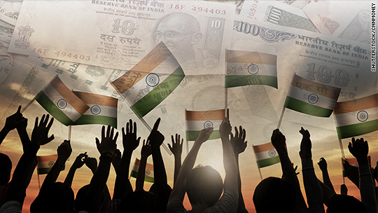 India shrugs off cash crisis to post 7% growth