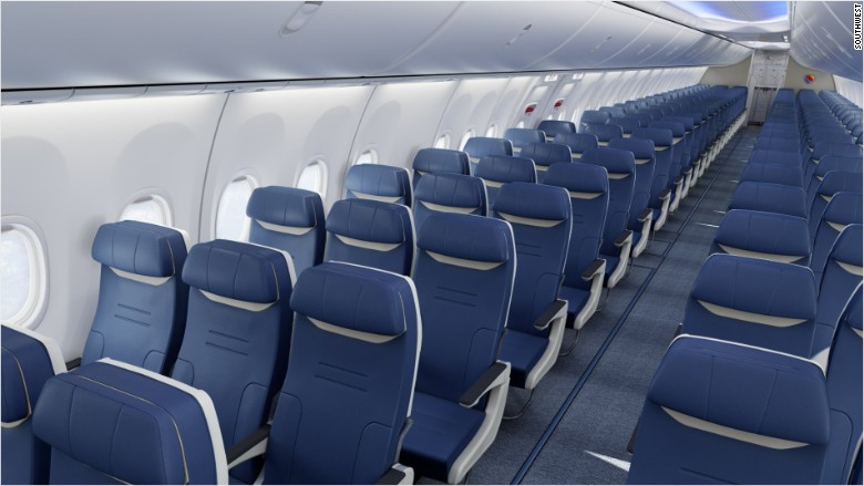 Southwest plane seats are getting wider for Aeromexico interior 737
