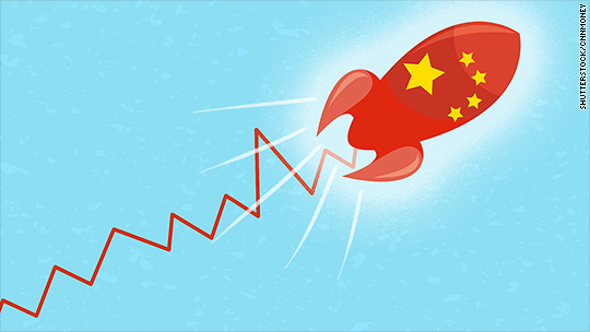 It's official: Chinese stocks have surged over 100%
