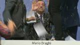 Mario Draghi attacked by activist at ECB meeting