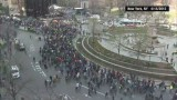 Time Lapse: NYC low-wage worker protest