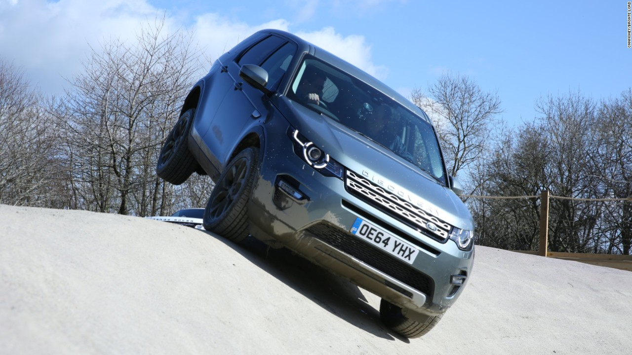 land rover: go off-roading at a castle - video - luxury
