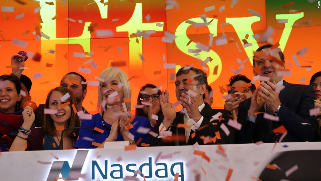 Etsy makes Wall St. debut
