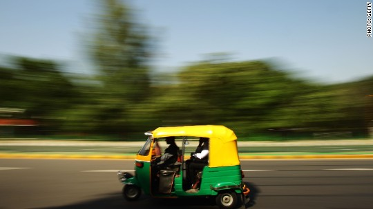 Use these apps to hail one of India's rickshaws