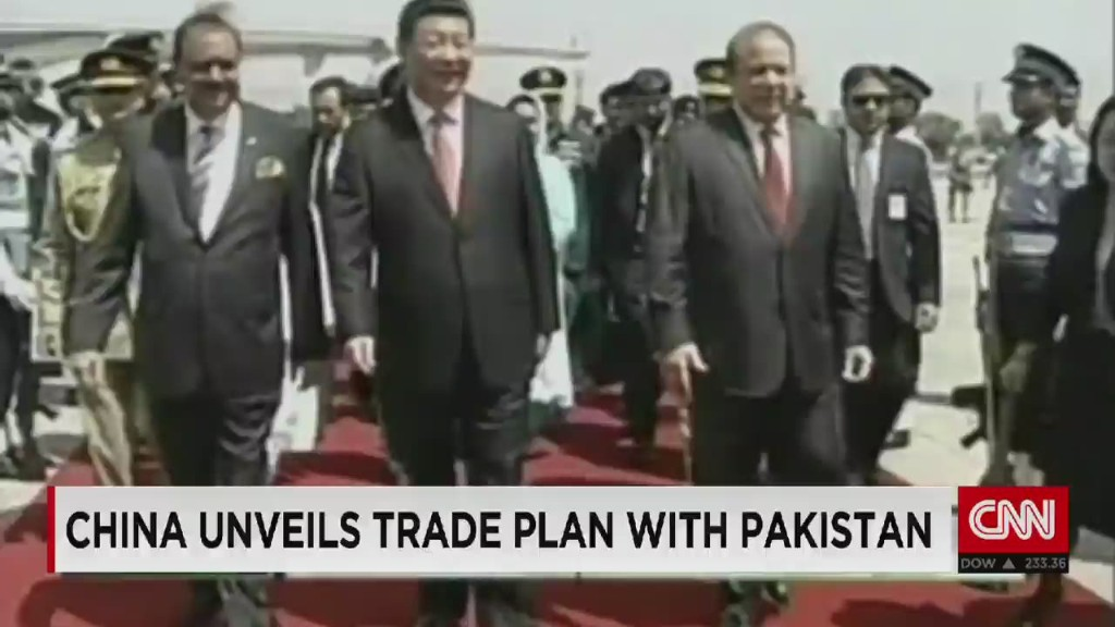 China to invest $46 billion in Pakistan