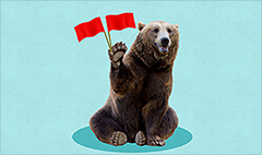 Bears waving more red flags about stocks
