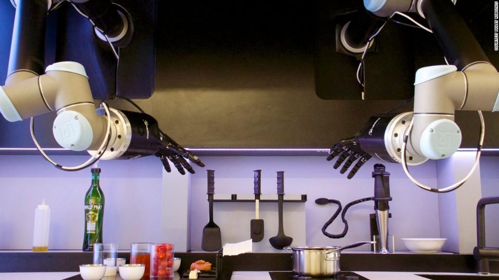 Meet the mechanical Master Chef
