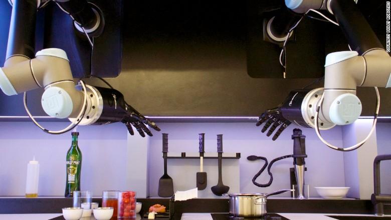 hebben er bestaat een robot die chef waardige maaltijden maakt smknguns. Black Bedroom Furniture Sets. Home Design Ideas