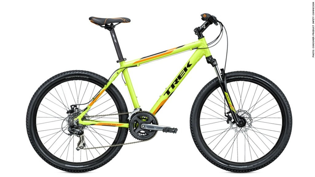 Trek recalls nearly 1 million bikes for safety issue - Apr. 22, 2015