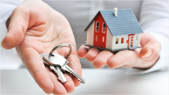 home buying with keys