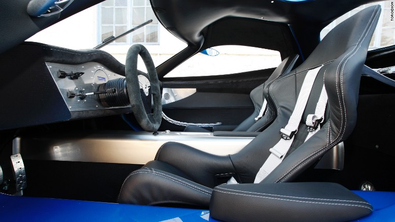 toroidion 1mw car interior