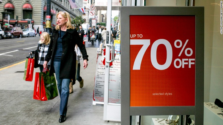 Goodbye 50% off sales: Deep discounts are ending | CNN Money