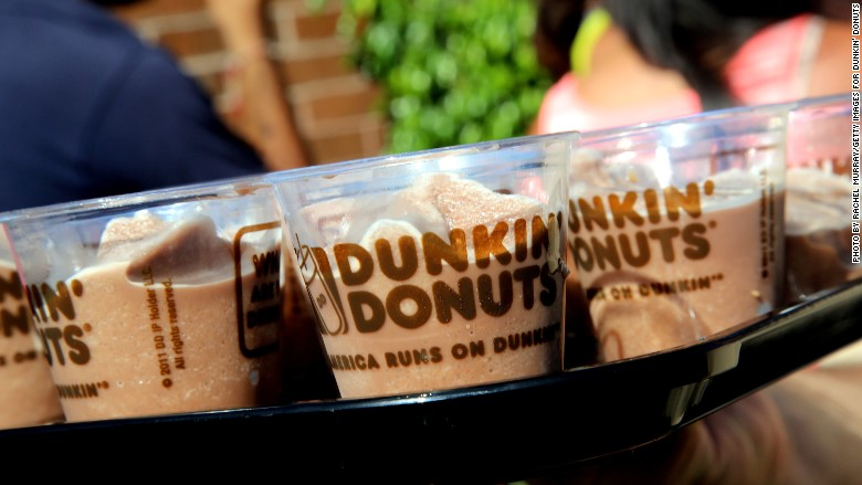 Dunkin' Donuts earnings