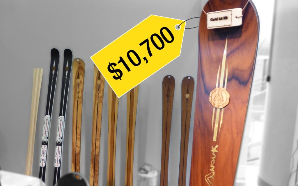 luxury gallery skiis